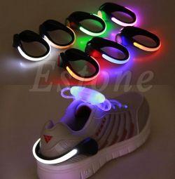 Spor ayakkabılar için LED ışıklar (çift)