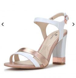 Sandale noi din piele autentică