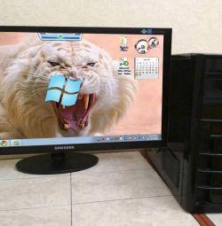 24-Monitor + Comp / i5 πυρήνες 4 πυρήνων / Radeon