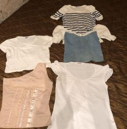 T-shirts / κορυφές