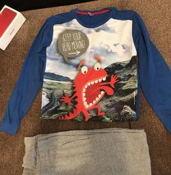 New pajamas for a boy