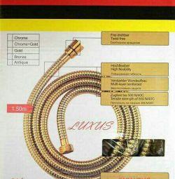 μάνικα ντους Kaiser gold 1,5m Γερμανία