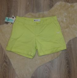 New shorts of Roxy for a teenager