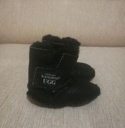 Uggs naturale (ugg), botine de iarnă