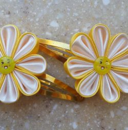 Hairpins-flowers