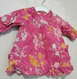 Ρούχα για ένα κορίτσι 56 τρίψτε