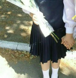 Школьная форма сарафан и нарядная блузка