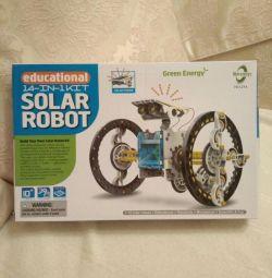 Конструктор на солнечной батарее 14 в 1