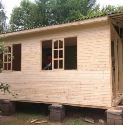 Să construim o baie, hozblok, extensie, orice material.