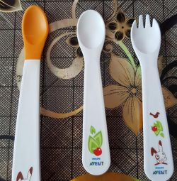 Avent spoon and fork