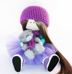 Лялька з тканини.