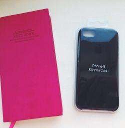 IPhone 7/8 için orijinal durum. Siyah.