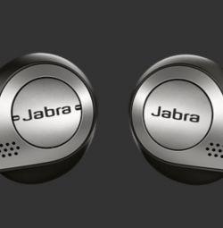 Jabra Elite 65t μαύρα