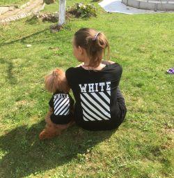 Tricou pentru câine și proprietar
