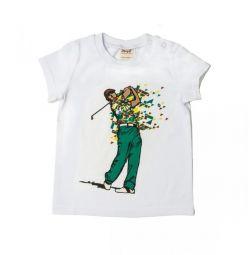 T-shirt Νέο γκολφ, πράσινο