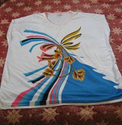 Desenli yaz bluz