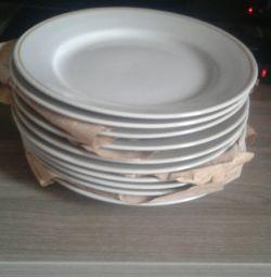 Plates of the USSR diameter 20 cm