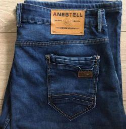 Pantaloni scurți jeans (dimensiunea 38)