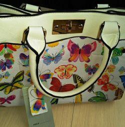 Τσάντα με πεταλούδες