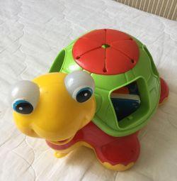 Țestoasă, jucărie educativă.