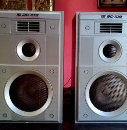 15 AC-109 Speakers Vega Acoustics of the USSR