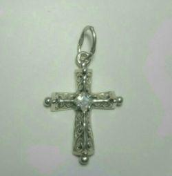 Πολύ όμορφο σταυρό από 925 ασήμι