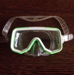Çocuklar için şnorkel için profesyonel maske