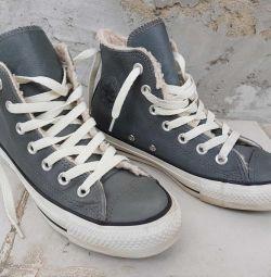 Συζητήστε ζεστά πάνινα παπούτσια