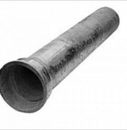 Труба чавунна каналізаційна 50 * 2000