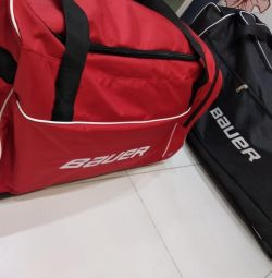 Sports bag Hockey bag on wheels
