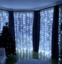 Curtains led