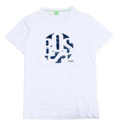 Green Hugo Boss T-shirt