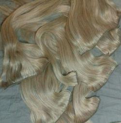 Волосся натуральні на шпильках