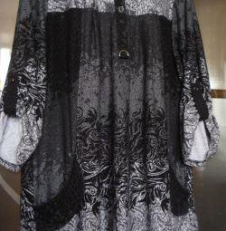Φόρεμα - πουκάμισο, r. 54-56