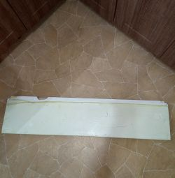 Window sill 109x25cm plastic