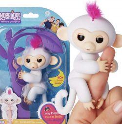 Interactive Monkey Fingerlings Baby Monkey