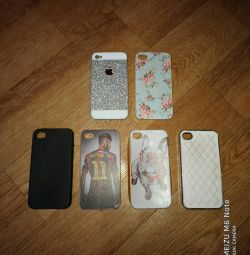 Covers for iPhone 4, 4s.