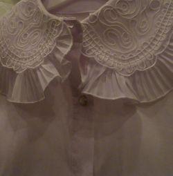Bluza alb nou