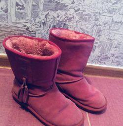 Göz alıcı kış ugg botları