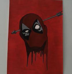 Deadpool çizim