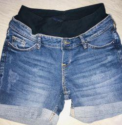 Maternity Shorts H & M New