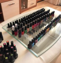 Nail polishes for manicure