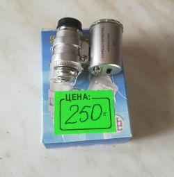 60x mini-microscope