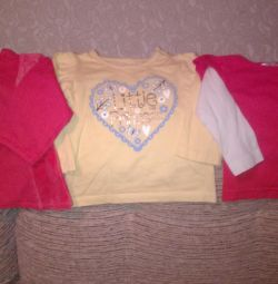 Baby things new for a girl 3-6 months.