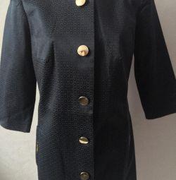 Новий удлінeнний піджак / легке пальто