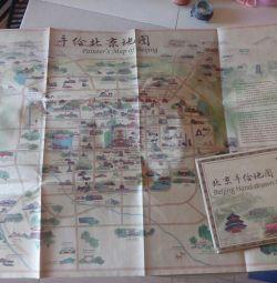 Χάρτες της Κίνας. Σχέδια