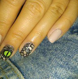 Дизайн ногтей, маникюр. М.Парнас
