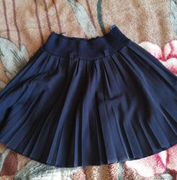 School skirt.