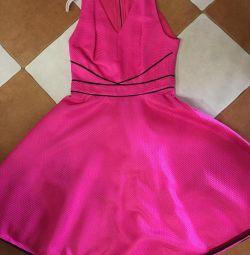 Φούξια Φόρεμα