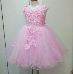 New ball gown with a full skirt